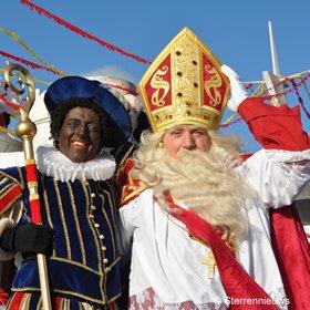 Aankomst Sinterklaas in Antwerpen op zaterdag 16 november 2013